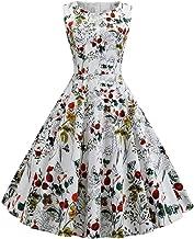 Bringbring Dresses Women's Vintage Dot Swing 50s