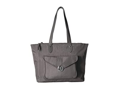 Baggallini Fairfax Laptop Tote (Sterling Shimmer) Tote Handbags