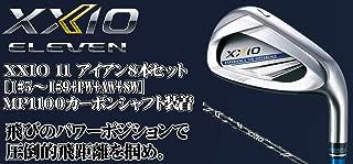 DUNLOP(ダンロップ) XXIO 11 ゼクシオ11 ゼクシオ イレブン アイアン 8本セット (番手I#5~PW+AW+SW) MP1100 カーボンシャフト メンズゴルフクラブ 右利き用 ネイビー