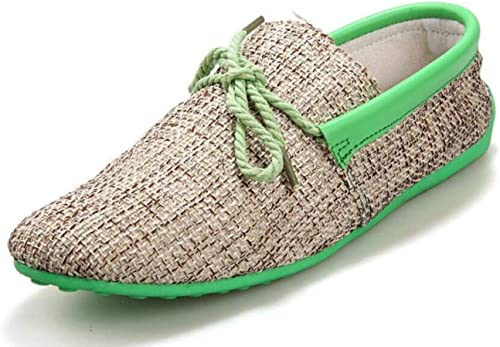 DHFUD Summer Peas Chaussures Chaussures Chaussures Hommes Coréens Chaussures Occasionnelles Chaussures Paresseuses  moins cher