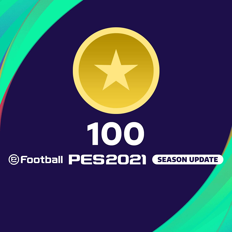 eFootball PES 2021 myClub coin 100 - PS4 [Digital Code]