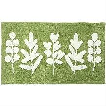Green Leaves Bathroom Carpets Microfiber Bath Mats Absorbent Entrance Doormat for Shower Room Floor Mats in Toilet Bathtub Side