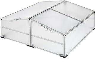 comprar comparacion TecTake Invernadero de jardín Aluminio Jardinera de protección | Resistente a la Intemperie - Varios Modelos (Modelo 2 | n...