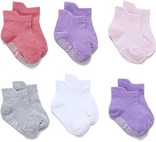 Calcetines Antideslizantes Cortos para Bebé Niñas