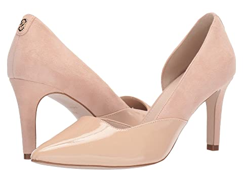 Cole Haan Shoes , NUDE SUEDE/PATENT