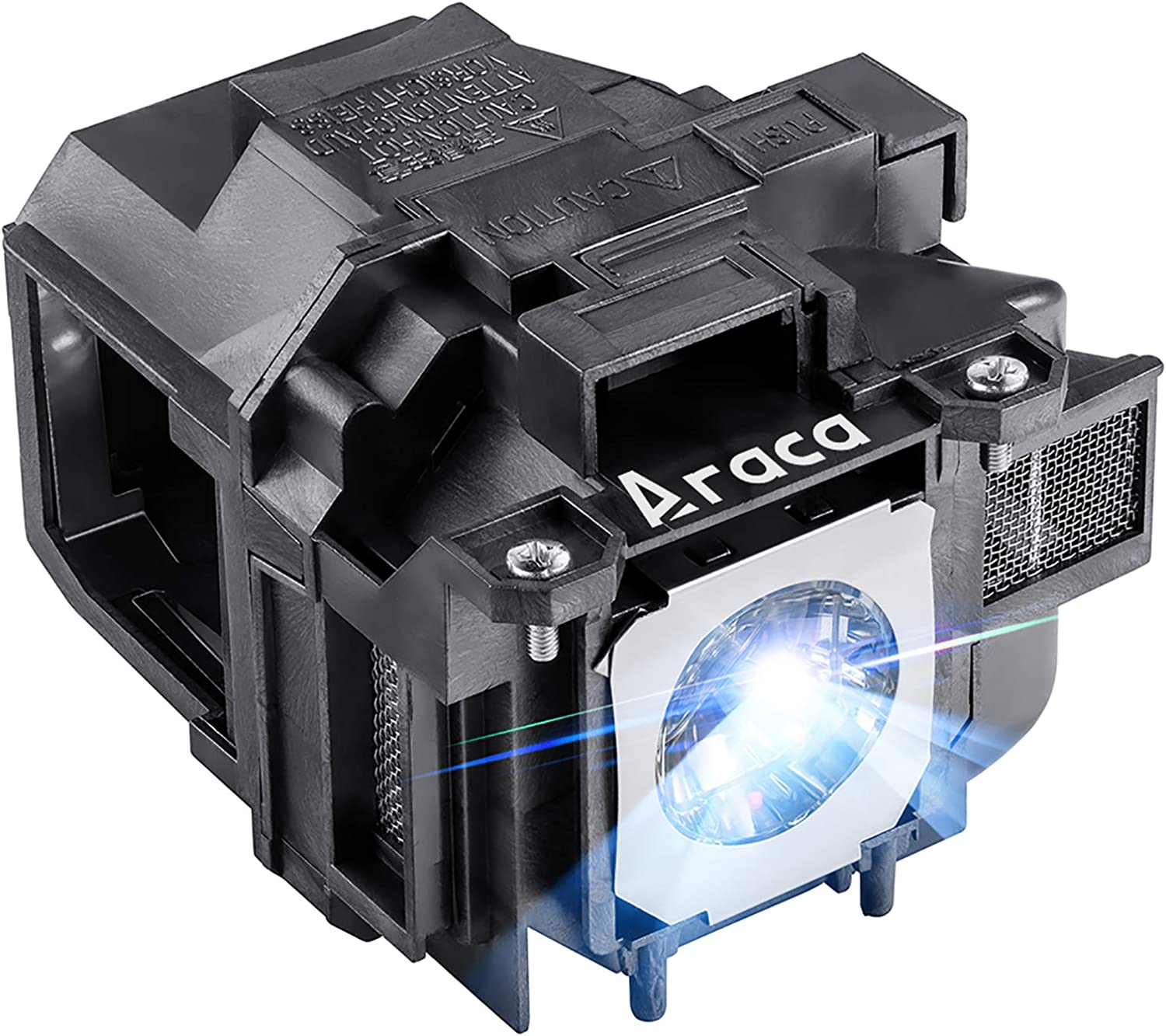 Araca ELPLP88 Replacement Projector Lamp with Housing for Epson EX7240 EX3240 EX9200 VS240 EB-X31 EX5240 TW5350 VS340 VS345 EB-U04 EX5250 H682 H683 /PowerLite 98H 2040 2045 740HD H719A Economical