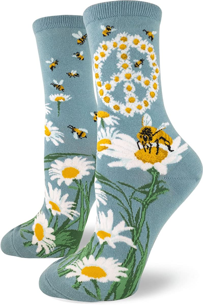 ModSocks Women's New quality assurance color Crew Socks Floral