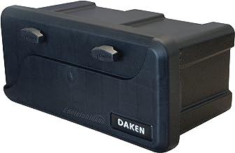 DAKEN Disselbox Blackit 2-550 x 250 x 295 mm aanhangerbox gereedschapskist aanhanger opbergkist gereedschapskist box 23 l