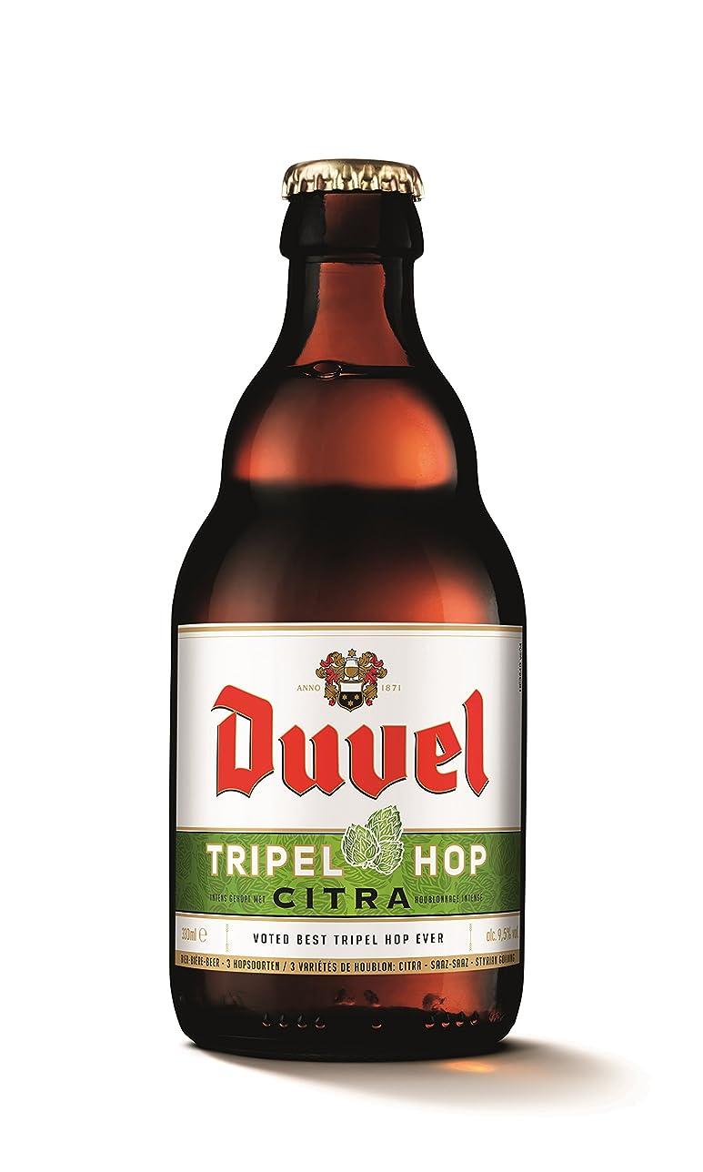 知的中央値ほこりっぽいデュベル トリプルホップ 330ml瓶 ベルギービール