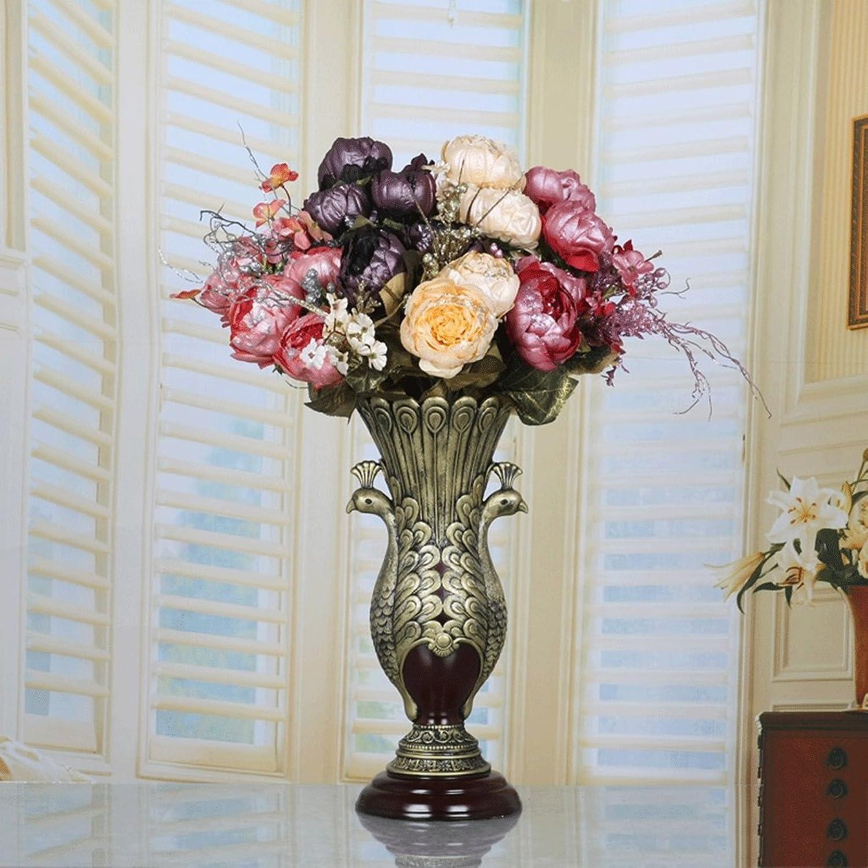 Fleur D Couleur Zhaojing Faux Maison Salon Creatif Fleur
