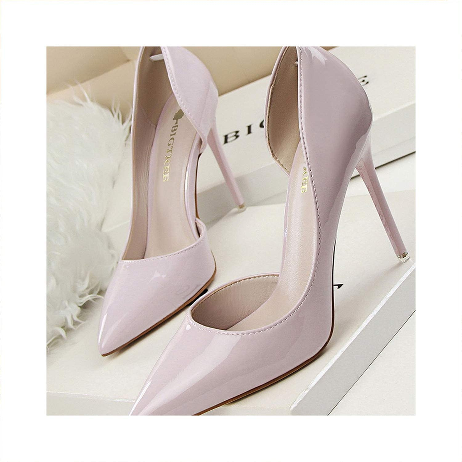 Women Pump Suede Basic Sandals Solid colors 2019 Slip On High Heels Sandals Femme Sexy Pumps
