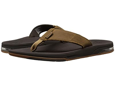 Reef Leather Fanning Low (Brown) Men