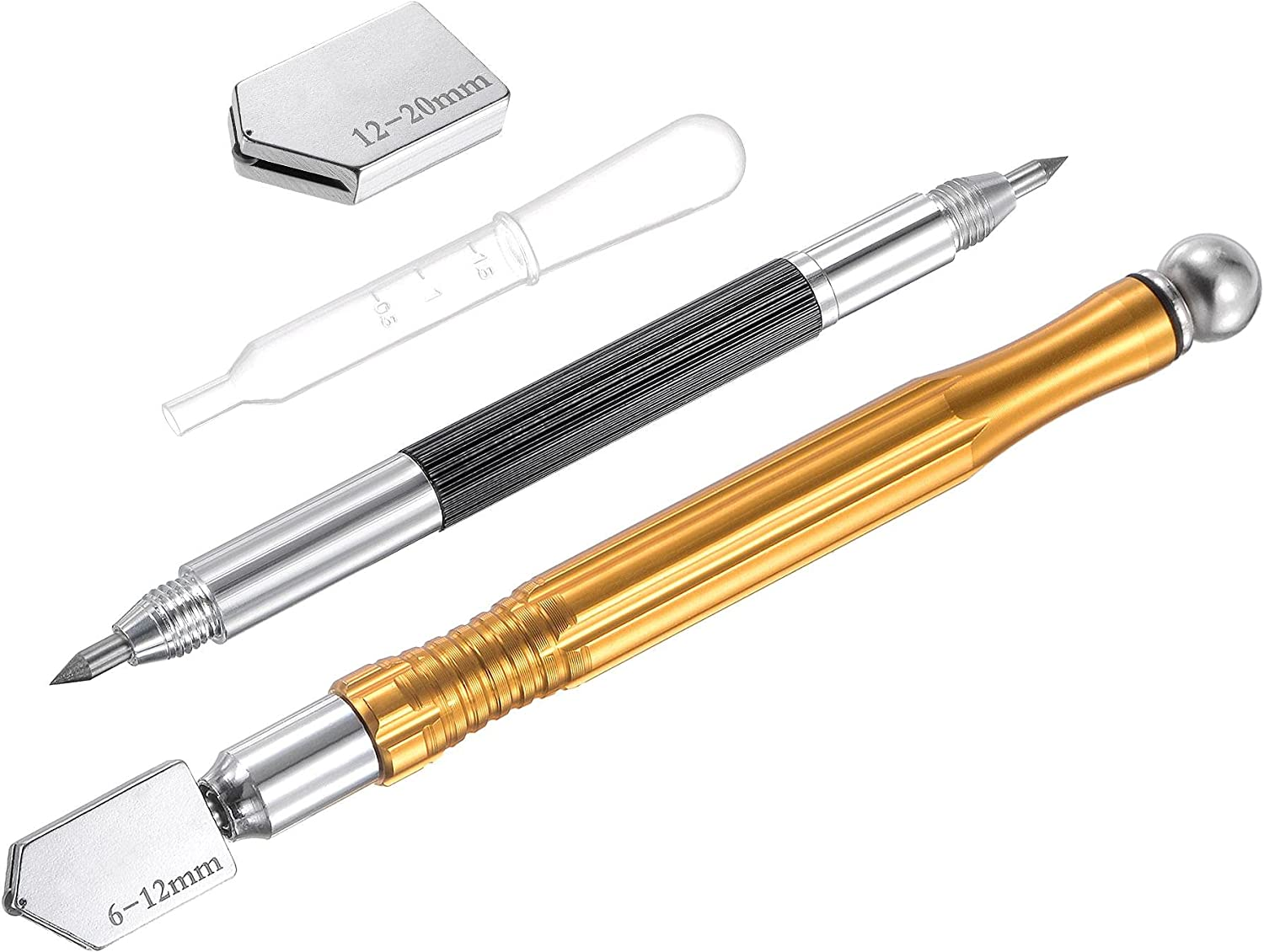 uxcell Glass Omaha Mall Cutter 6-12mm Pencil Style Tip Al Feed Brand Cheap Sale Venue Oil Carbide