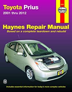 Toyota Prius, '01-'12 Technical Repair Manual (Haynes Repair Manual)
