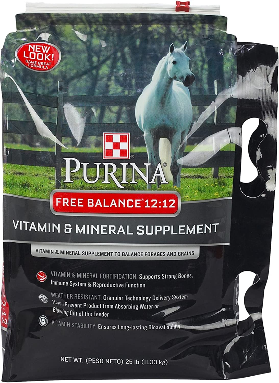 Purina Animal Nutrition Purina Free Balance 12 12 Horse Supplement 25lbs