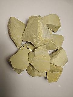 The edible clay Ural 200gr. 粘土は黄色のウラルです。