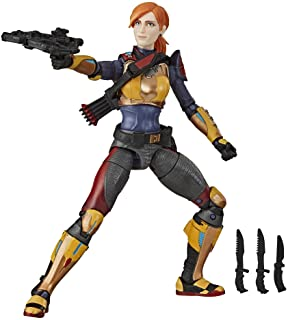 Hasbro G.I. Joe Classified Series Scarlett Action Figure Collectible 05 Premium Toy with Multiple Accessories 6-Inch Scale with Custom Package Art (Deco May Vary)