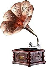 $237 » XQJJFJ Mini Vintage Retro Classic Gramophone Phonograph Shape Stereo Speaker Sound System Music Box