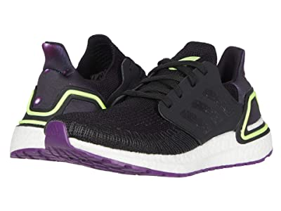 adidas Kids UltraBOOST 20 (Big Kid) (Black/Glory Purple/White) Kid