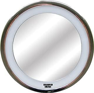 Sharper Image LED Anti-Fog Shower Mirror, Silver