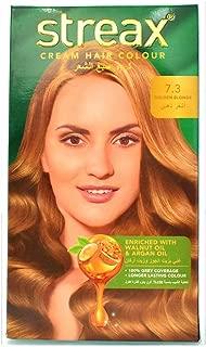 Streax Cream Hair Color - Golden Blonde 7.4
