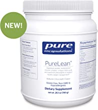 Pure Encapsulations - PureLean - Vegetarian Protein, Vitamins, Minerals, Omega-3 Fatty Acid and Superfruit Antioxidants for Healthy Weight Management** - Natural Chocolate Flavor - 26.1 oz (740 Grams)