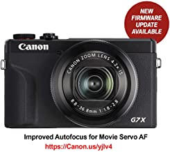 Canon PowerShot G7X Mark III Digital 4K Vlogging Camera, Vertical 4K Video Support with Wi-Fi, NFC and 3.0-inch Touch Tilt LCD, Black