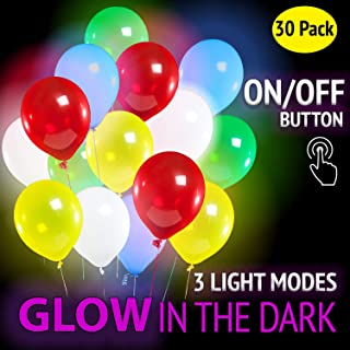 Best glow in the dark streamers and balloons Reviews