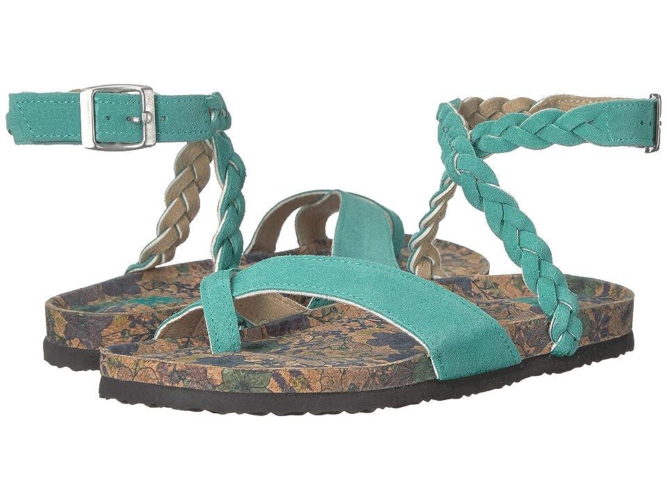 MUK LUKS Bailey (Mint) Women's Sandals