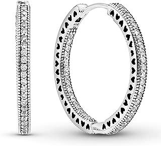 Best pandora large hoop earrings Reviews
