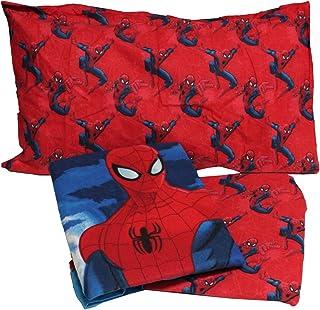 0eeb339b4d Russo Tessuti Set Completo Lenzuola Flanella Letto Singolo Spiderman 2 Disney  Marvel