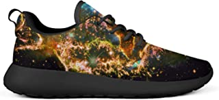VXCVF Galaxy Universe Nebula Space Man's Sneakers for Mens Non-Slip Cool