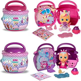 Cry Babies Magic Tears Paci House, 2 Pack, Multi (80560)