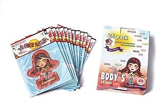 Vspec (R) 25 Pieces Body Edition La Chica Fresita, Automotive Air Freshener, Strawberry