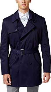 Mens Double Breasted Raincoat