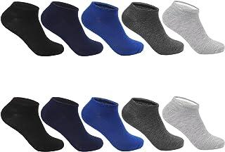 Pack de 10 Calcetines Cortos Sneaker de deporte para Mujer Hombre Unisex 2101