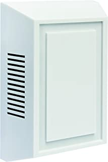 IQ America DW-2402 Wired Door Chime with Modern Design Cover, White, 2-Note or 1-Note (Replaces DW-2405 and DW-2403A) (1)