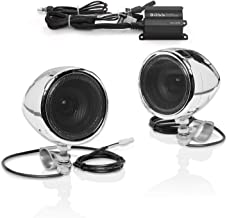 BOSS Audio Systems MC420B Motorcycle Speaker System – Class D Compact Amplifier, 3 Inch..