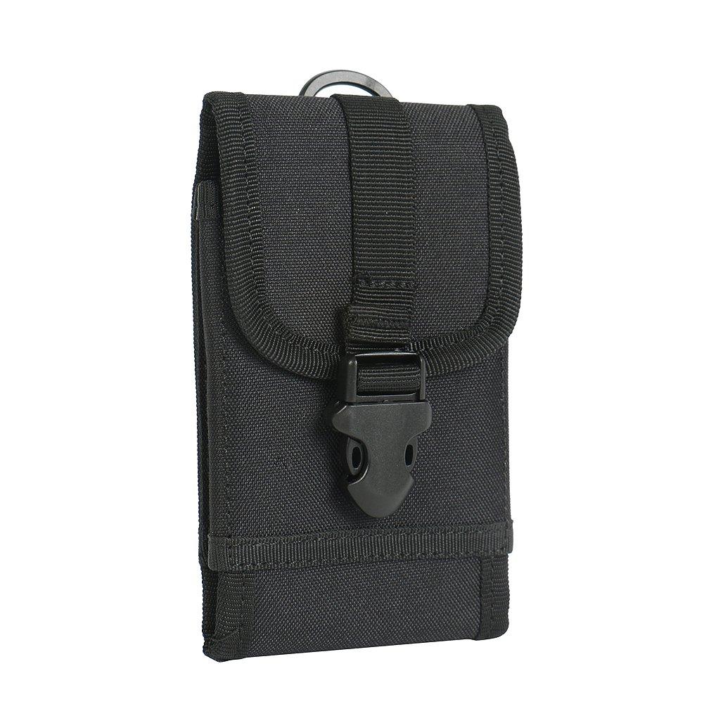 K-S-Trade Bolsa del cinturón/Funda para Kodak Ektra, Negro + ...