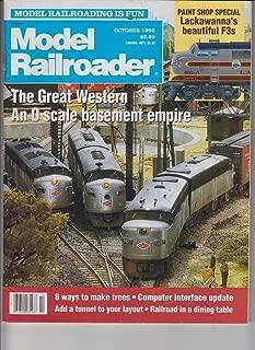 Model Railroader (October 1992)