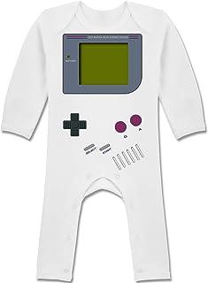 Shirtracer Strampler Motive - Gameboy - Baby-Body Langarm für Jungen und Mädchen