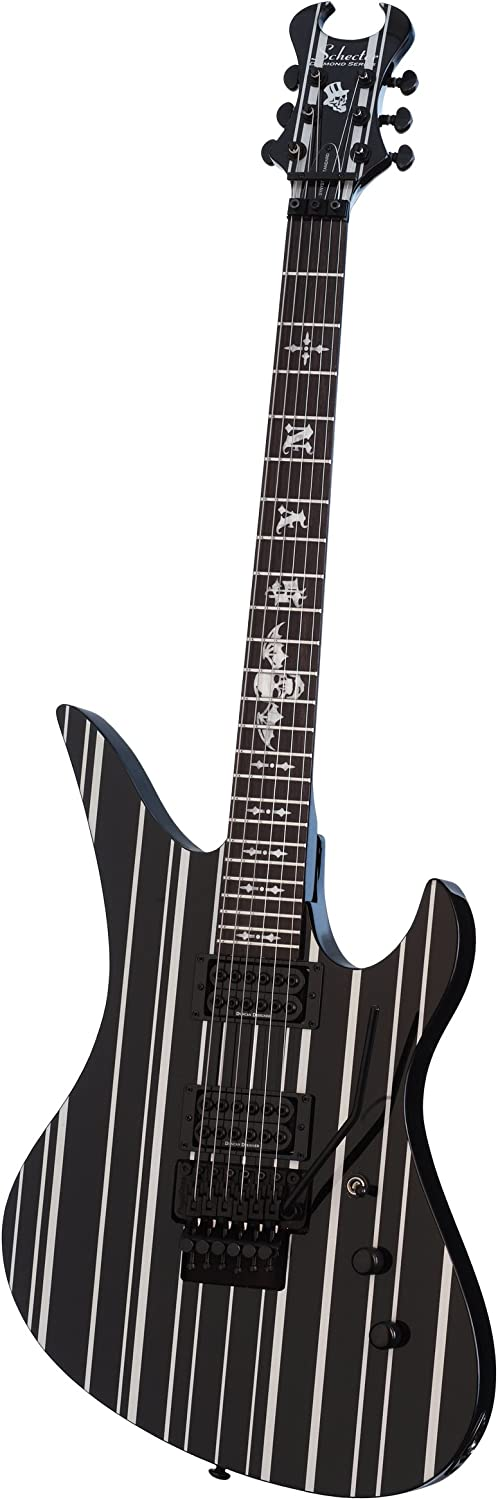 Schecter 6 String Solid-Body Electric Black Gloss Super beauty product Under blast sales restock quality top Guitar 1739