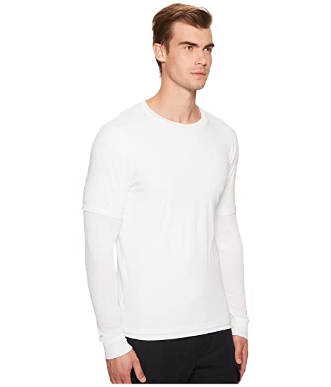 Layer Double Long Sleeve Shirt Vince zSwv0w8