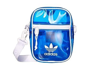 adidas Originals Originals Tinted Festival Crossbody (Bluebird/White) Handbags