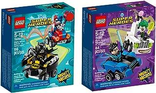 LEGO Super Heroes Micro Batman Joker Bundle Building Kit (170 Piece)
