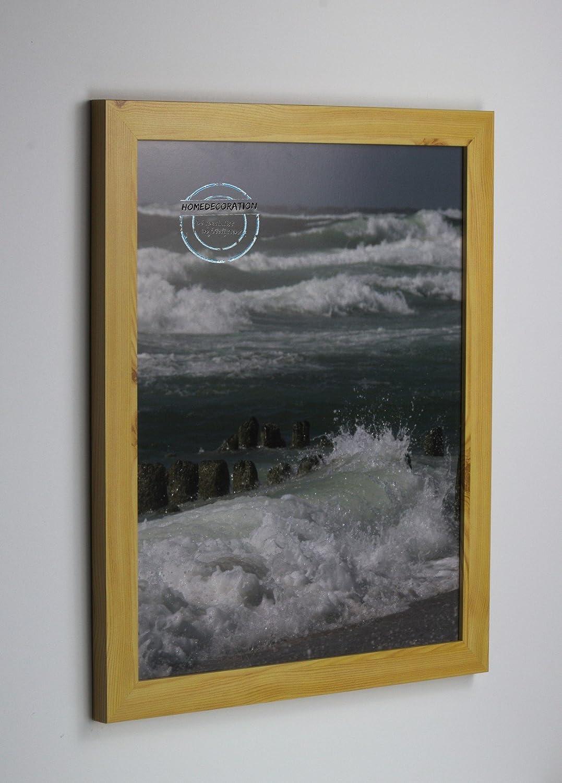 para proporcionarle una compra en línea agradable Marco Kiruna Kiruna Kiruna 28 x 78 cm MDF, marco estable en el estilo Bauhaus 78 x 28cm, Color seleccionado  pino con vidrio acrílico transparente 1mm  salida de fábrica