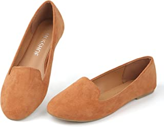 Sponsored Ad - MUSSHOE Flats Shoes for Women Slip on Round Toe Comfortable Women's Flats Ballet Flats Shoes Loafers for Women
