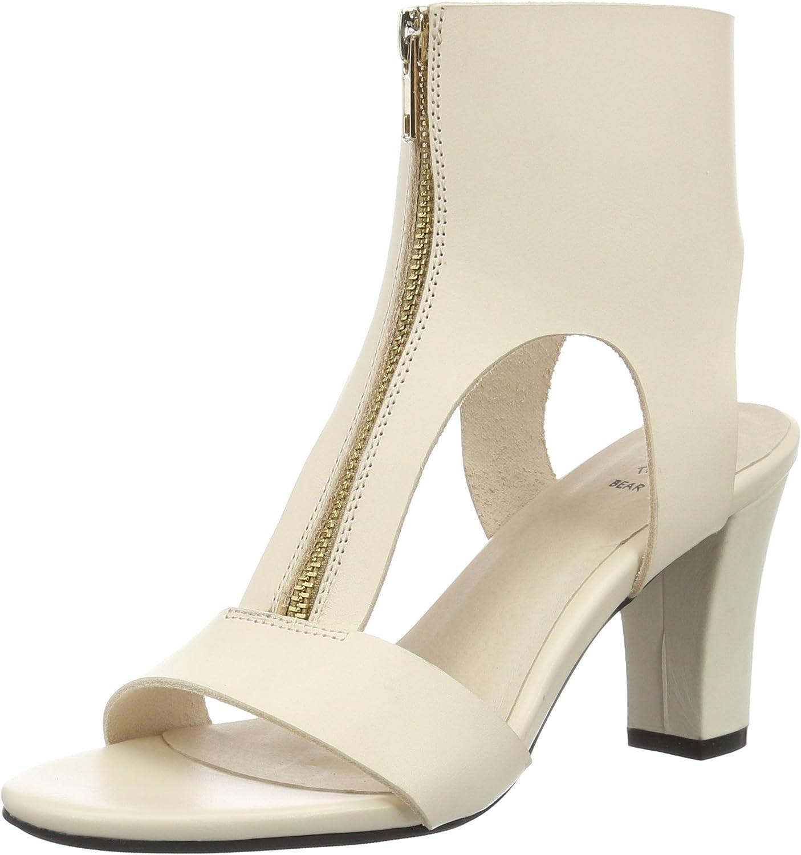 SHOE THE BEAR Women's Jolie Zipped Heel in Nude