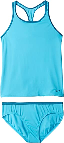 Solid Racerback Tankini (Little Kids/Big Kids)