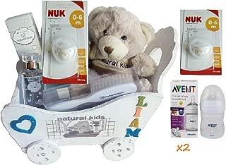 Canastilla/Cesta osito regalo bebé niño